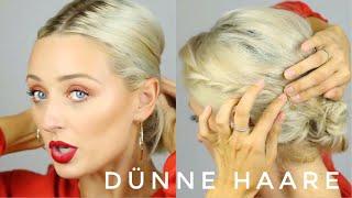 Dünne Haare - Schnitt, Farbe, Styling | OlesjasWelt