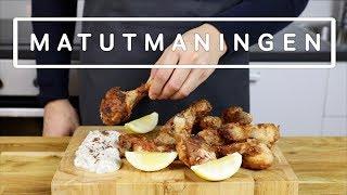 Matutmaningen: Friterad kyckling!