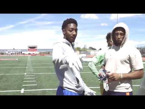 Broncos WR Hunter Sharp & AVC WR core
