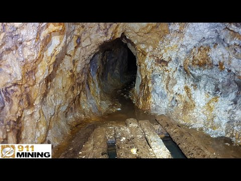 Prospecting An Adit Struck On A Massive Platinum & Gold Quartz Vein!