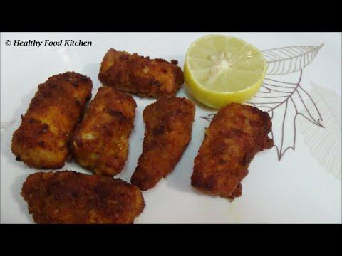 Crispy Finger Fish Fry Recipe-Fish Fry Recipe-Fish Finger Fry Recipe By Healthy Food Kitchen