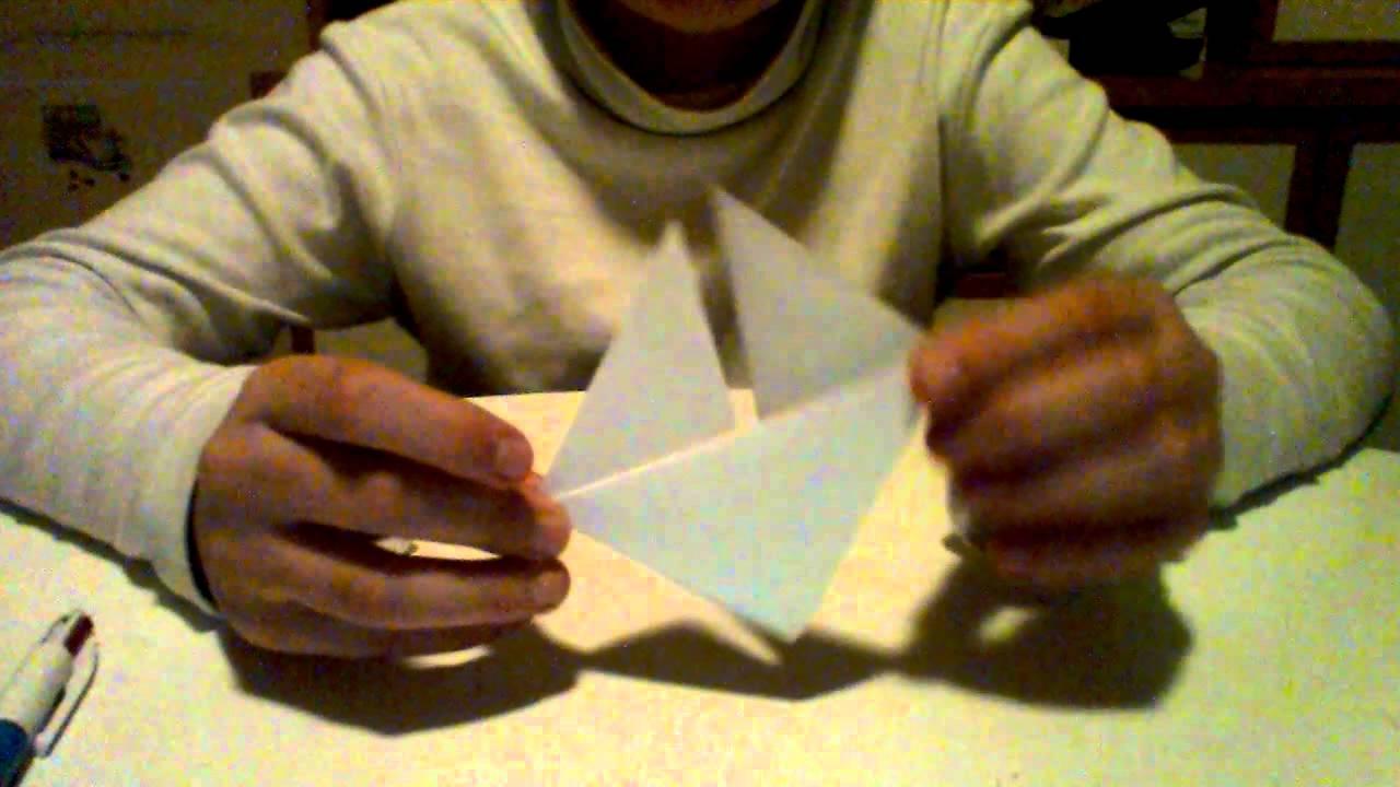 origami facile tete de renard