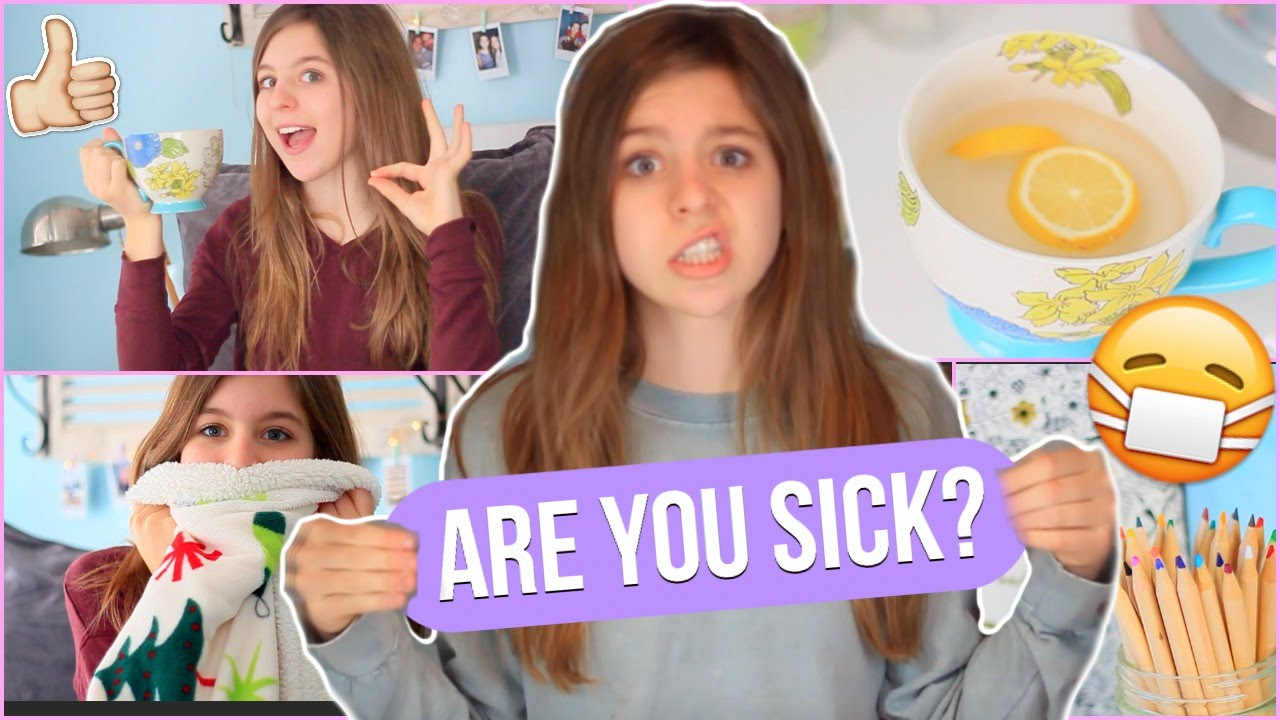 What To Do When You're Sick!  Tips To Feel Better + My Essentials!