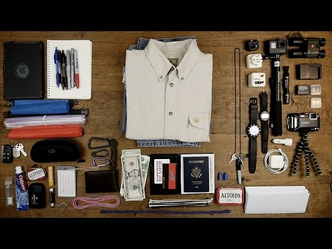 Carry On and complete Packing List for African safari