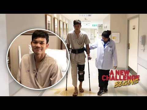 Update : อาการบาดเจ็บ หลังผ่าตัด AK9 : กอล์ฟ - อดิศักดิ์ ไกรษร