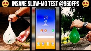 Samsung Galaxy Note 9 Insane Slow-Mo @960FPS 🔥🔥🔥 | Camera Review | Daylight Low light Samples