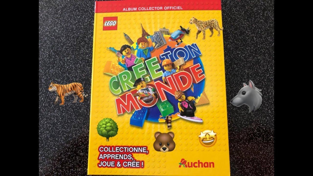 Carte Lego Auchan Livre.Auchan Cartes Lego Creer Ton Monde A Collectionner 31