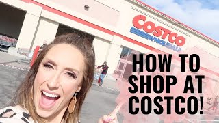 Costco tips & tricks! Family of 8 Costco Haul | How to shop at Costco