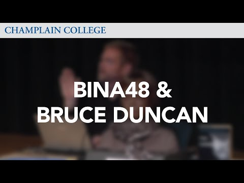 BINA48 & Bruce Duncan: Speaking from Experience