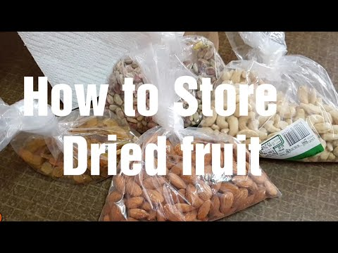 How to Store Dried fruit at Home