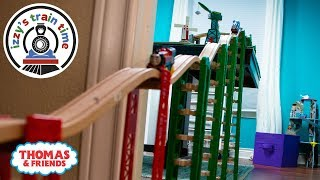 Thomas and Friends | Thomas Train and Brio MASSIVE Table to Floor Track! Fun Toy Trains for Kids