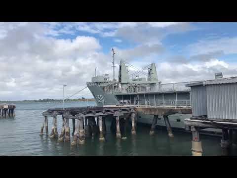 A new dive site for the Bundaberg region - ex HMAS Tobruk