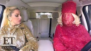 Lady Gaga Drives James Corden Crazy In 'Carpool Karaoke'