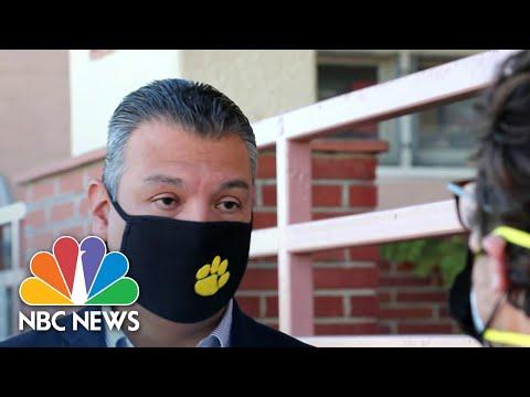 Alex Padilla, California's New Senator, Speaks Out On Covid Crisis | NBC Nightly News