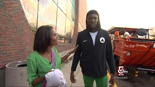 Celtics rookie takes a tour of Boston