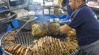 Meat Roast and Grill Huge Festival. The Best of Italy Street Food