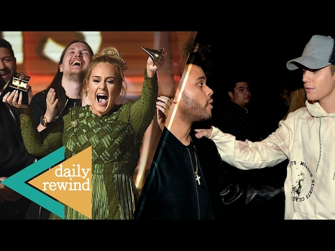 Adele Breaks Grammy Award in Half for Beyonce? Justin Bieber Disses the Weeknd AGAIN!? -DR