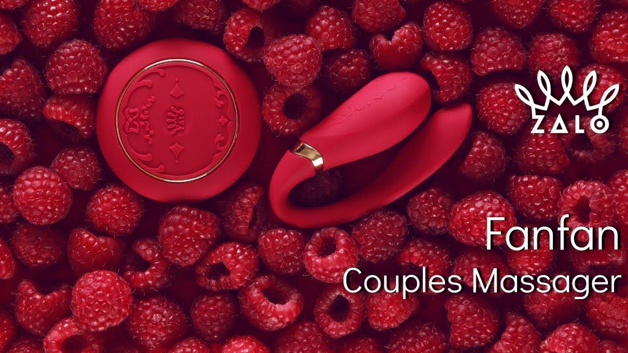 ZALO Fanfan Set - Remote-Controlled Couples Massager