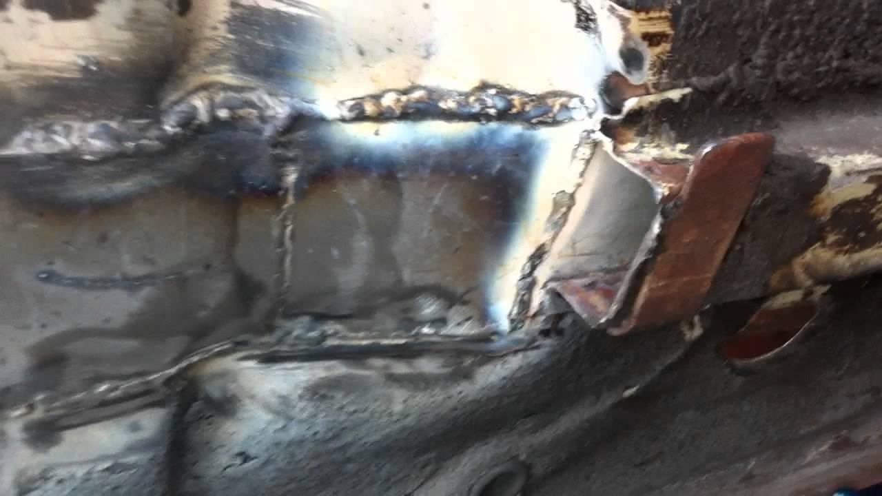 280z Rust Repair Patching Youtube