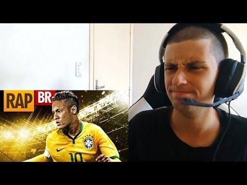 React - Rap do Neymar Ft. Kanhanga | Tauz RapSports 02