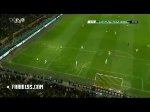 «Боруссия» Дортмунд - «Вольфсбург» ` 1:0 Мхитарян, 12