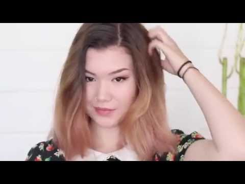How To Style Shoulder Length Hair Youtube