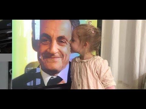 La mère de Carla Bruni dévoile un adorable cliché de Giulia faisant un bisou à Nicolas Sarkozy