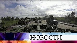 Военные, принимавшие участие в маневрах «Восток-2018», возвращаются в пункты постоянной дислокации.
