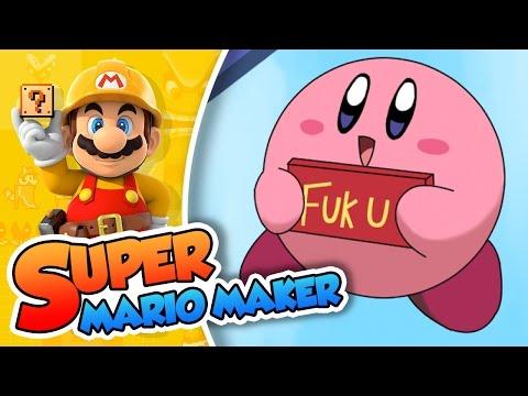 Mario Planet Robobot!   Super Mario Maker (60fps)
