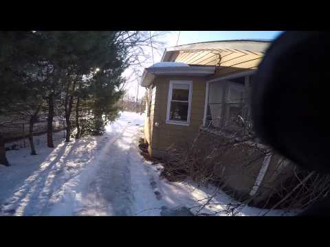 Homemade Luge Track video
