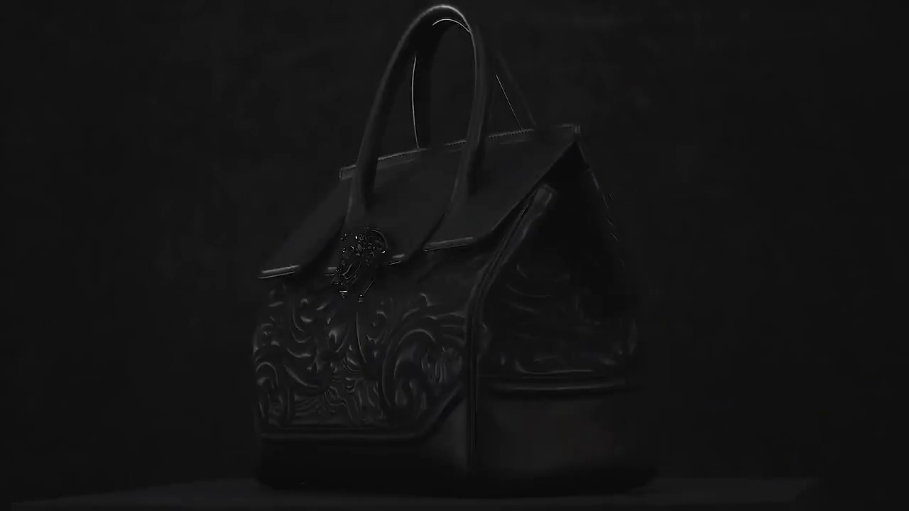 545344adb700 VERSACE EMBROIDERED BAROQUE PALAZZO EMPIRE HANDBAG COLLECTION - YouTube