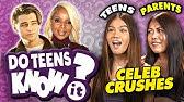 Do Teens Know Their Parent&#39s First Celeb Crush?