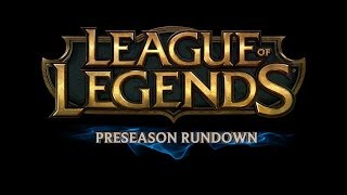 Preseason Rundown