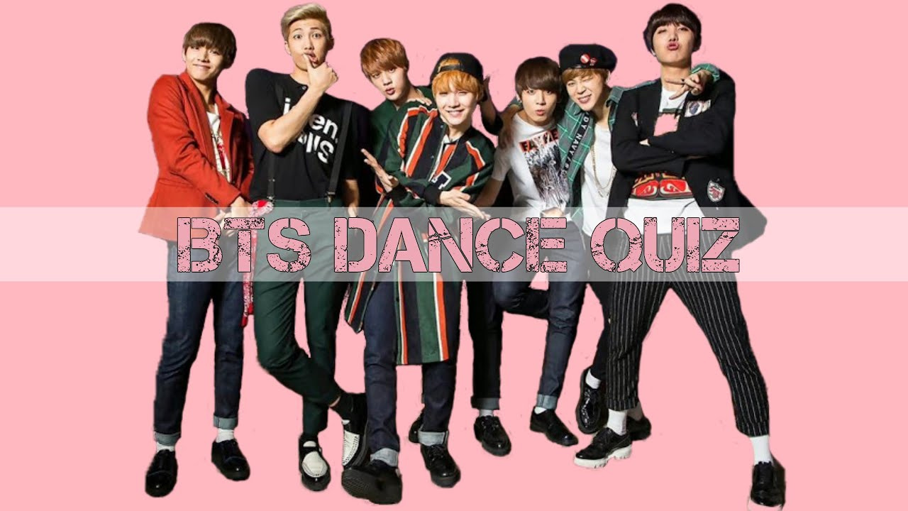 fb4193f73 BTS QUIZ   GUESS THE DANCE - YouTube