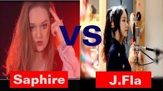 J.Fla vs Sapphire  - Delicate - Taylor Swift