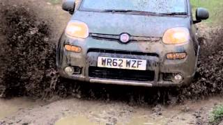 Fiat Panda 4x4 at Robin Hoods Bay Off Road Test Track