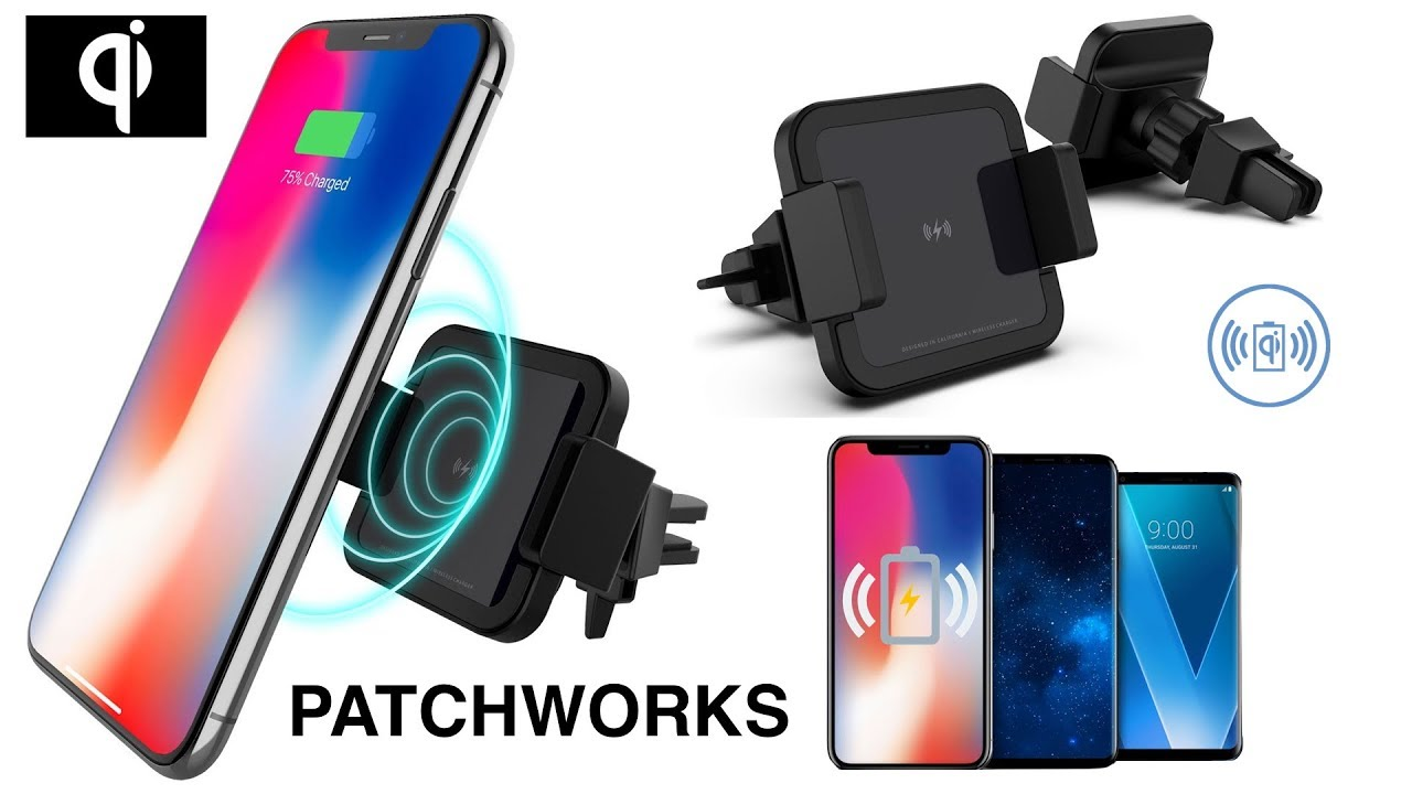 Best Qi Wireless Fast Car Charger From Patchworks Youtube