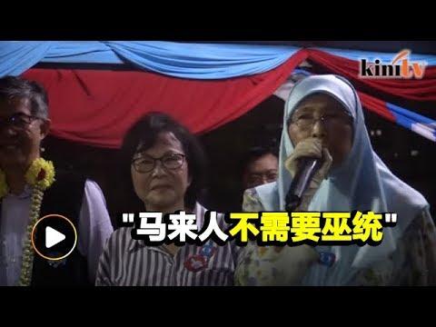 Wan Azizah: Malays don't need Umno