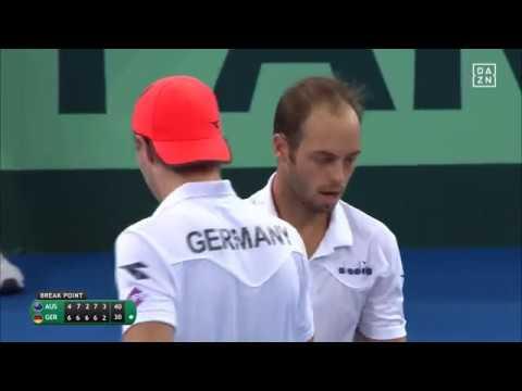 Davis Cup-Highlights: Das Doppel in Brisbane
