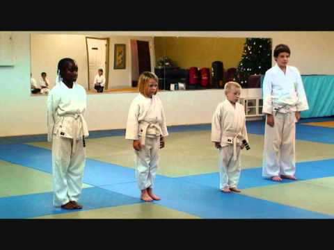 12/17/2008 Phoenix Sikes and Tori Harless First Belt Test