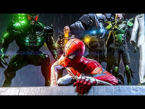 Spiderman PS4 - E3 2018 Gameplay Demo (Playstation Conference)