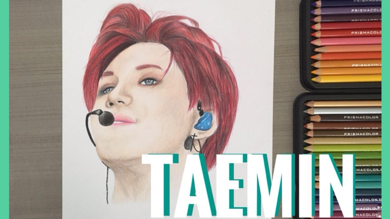 Drawing SHINee: TAEMIN  - Dibujando a TAEMIN | Haru Yun