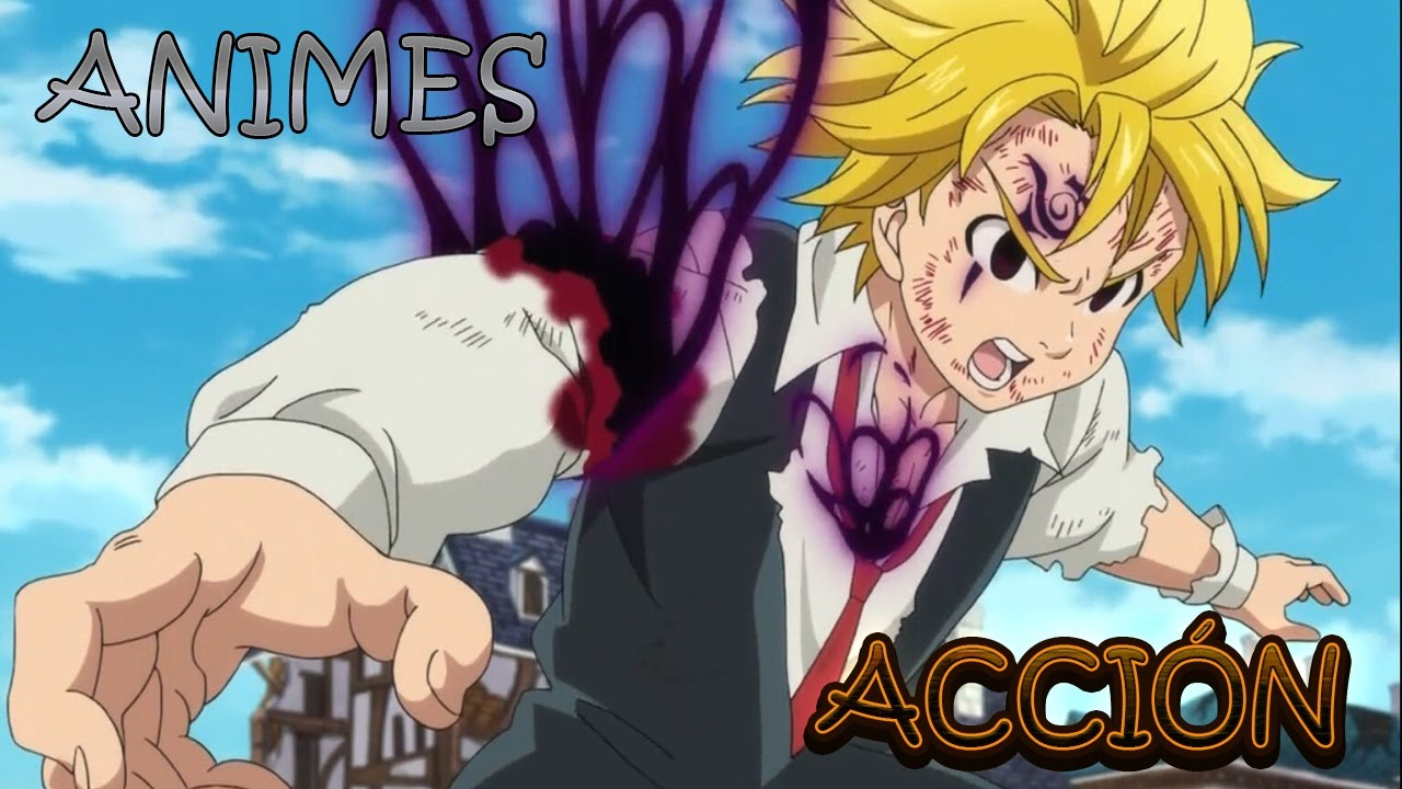 Top 10 Mejores Animes de Acción Animes Cortos YouTube