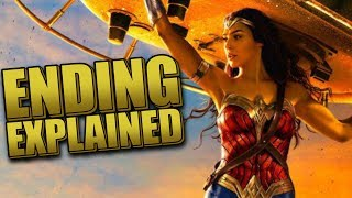 Wonder Woman Ending Explained Breakdown And Recap