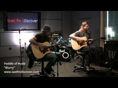 Puddle of Mudd - Blurry (Last.fm Sessions)