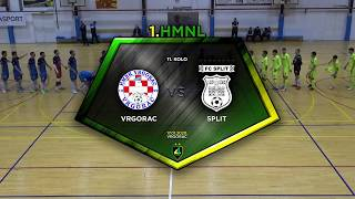 VRGORAC vs SPLIT 7:3 (11. kolo, 1. HMNL 19/20)