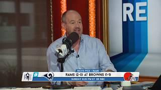 Rich Eisen's Week 3 NFL Picks: Rams-Browns, Saints-Seahawks, Giants-Buccaneers   9/20/19