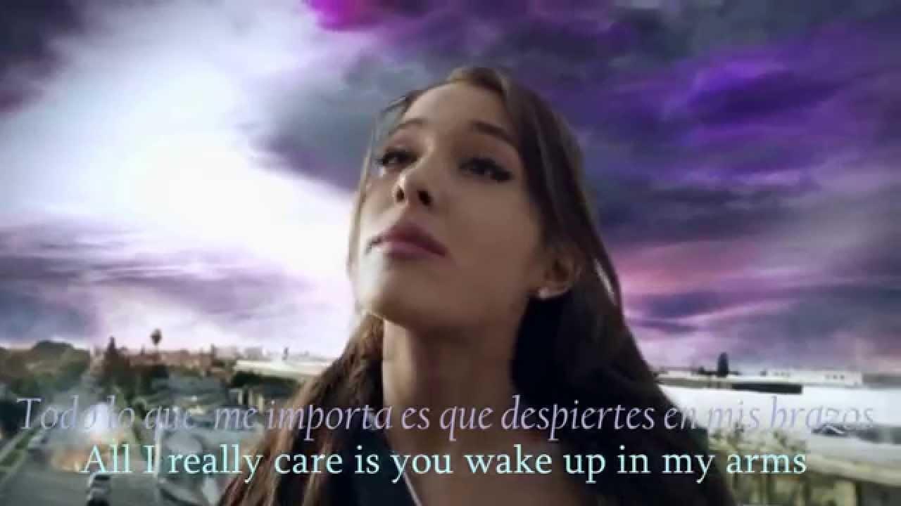 Ariana Grande One Last Time Lyrics Español Official Video Youtube