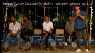 3. Bo - τραγούδι - Survivor Greece 2017 - Επεισόδιο 44 - 24/04/2017