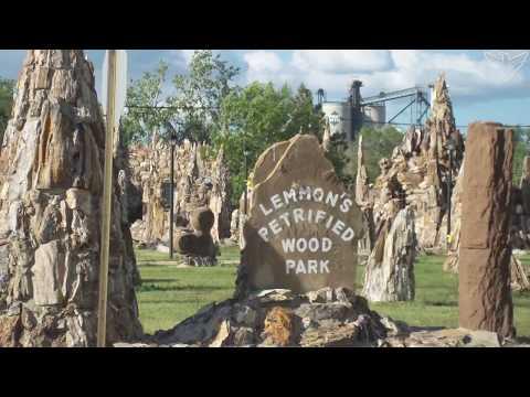 Landscapes of South Dakota: Petrified Wood Park